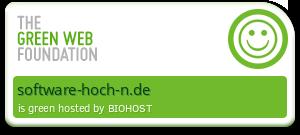 Diese Seite ist grün gehostet - überprüft durch thegreenwebfoundation.org
